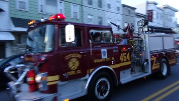 Apparatus Parade during Citz Fest, Citizens Fire Company, Mahanoy City, 8-21-2015 (81)