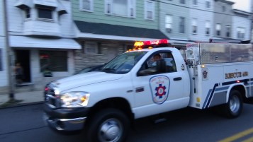 Apparatus Parade during Citz Fest, Citizens Fire Company, Mahanoy City, 8-21-2015 (97)