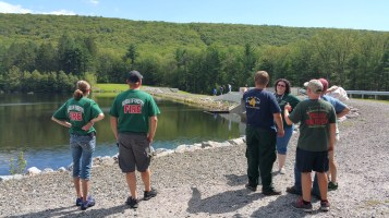 Celebrating 100 Years of PA Forestry, Owl Creek Reservoir, Tamaqua (107)