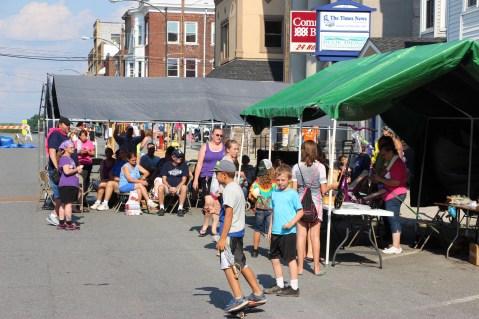 Community Block Party, West Snyder Avenue, Grace Community Church, Lansford (1)