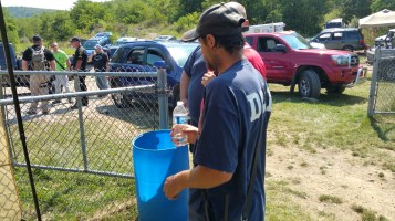 Day 3 of Search for Jesse Rex Farber, Sharp Mountain, Tamaqua, 8-15-2015 (26)