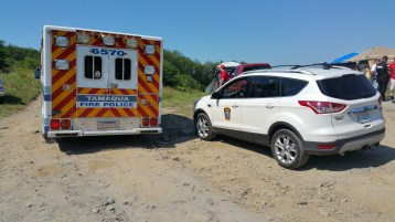 Day 3 of Search for Jesse Rex Farber, Sharp Mountain, Tamaqua, 8-15-2015 (5)