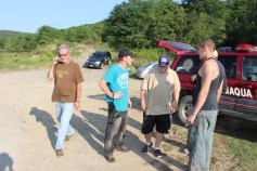 Day 3 of Search for Jesse Rex Farber, Sharp Mountain, Tamaqua, 8-15-2015 (85)