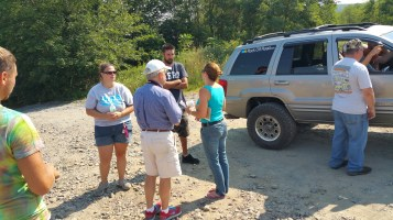 Day 4 of Search for Jesse Rex Farber, Sharp Mountain, Tamaqua, 8-16-2015 (7)