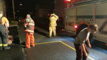 Firefighters Respond to Garage Fire in Coaldale, 8-20-2015 (10)