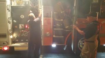 Firefighters Respond to Garage Fire in Coaldale, 8-20-2015 (13)