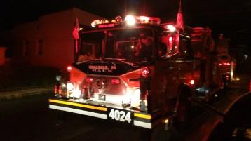 Firefighters Respond to Garage Fire in Coaldale, 8-20-2015 (16)