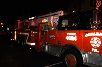 Firefighters Respond to Garage Fire in Coaldale, 8-20-2015 (268)