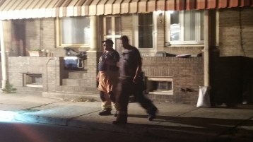 Fuel Oil Spill in Basement of Condemned Property, 417 Pine, Tamaqua (35)