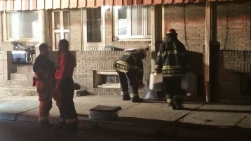 Fuel Oil Spill in Basement of Condemned Property, 417 Pine, Tamaqua (37)