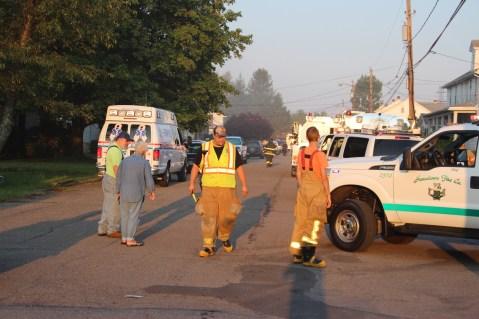 House Fire, 14 West Cherry Street, Tresckow, 8-17-2015 (1)
