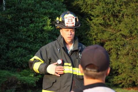 House Fire, 14 West Cherry Street, Tresckow, 8-17-2015 (101)