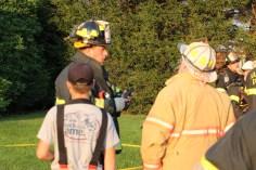 House Fire, 14 West Cherry Street, Tresckow, 8-17-2015 (102)