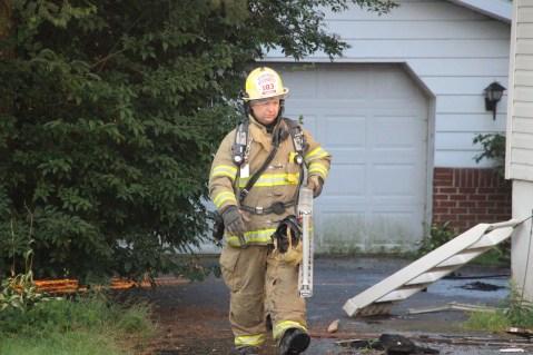 House Fire, 14 West Cherry Street, Tresckow, 8-17-2015 (131)