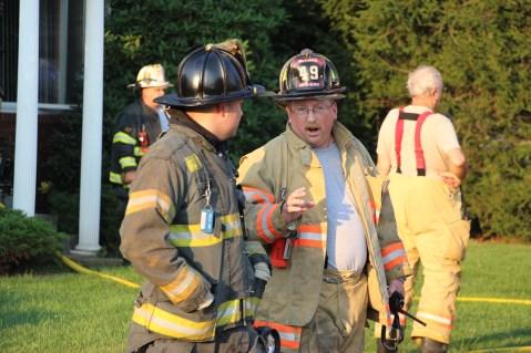 House Fire, 14 West Cherry Street, Tresckow, 8-17-2015 (142)