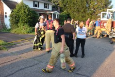House Fire, 14 West Cherry Street, Tresckow, 8-17-2015 (148)