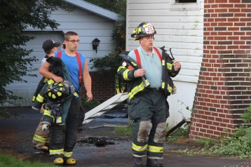 House Fire, 14 West Cherry Street, Tresckow, 8-17-2015 (154)