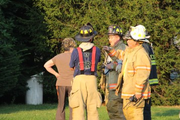 House Fire, 14 West Cherry Street, Tresckow, 8-17-2015 (155)