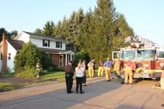 House Fire, 14 West Cherry Street, Tresckow, 8-17-2015 (163)