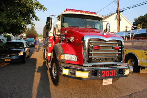 House Fire, 14 West Cherry Street, Tresckow, 8-17-2015 (175)
