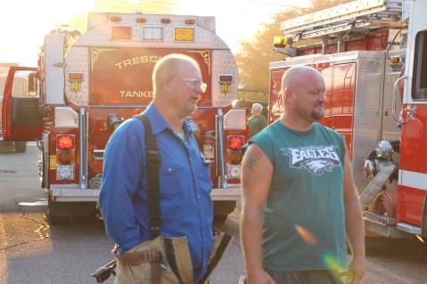 House Fire, 14 West Cherry Street, Tresckow, 8-17-2015 (34)
