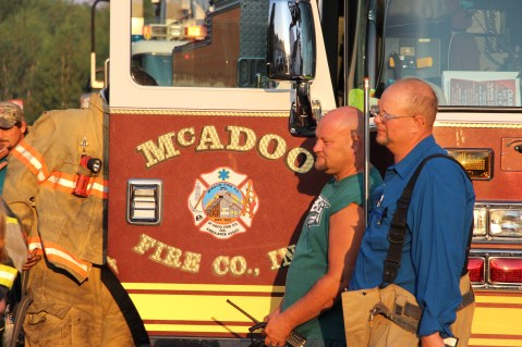 House Fire, 14 West Cherry Street, Tresckow, 8-17-2015 (67)