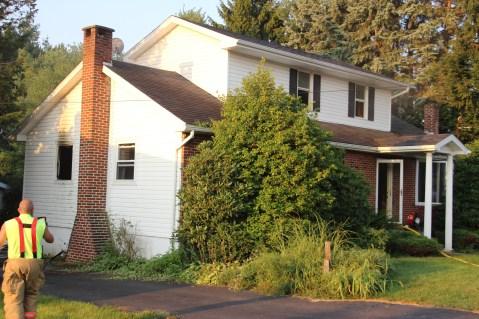 House Fire, 14 West Cherry Street, Tresckow, 8-17-2015 (75)