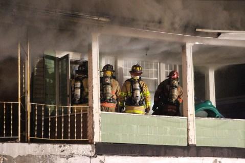 House Fire, 40-42 West Water Street, US209, Coaldale, 8-4-2015 (143)
