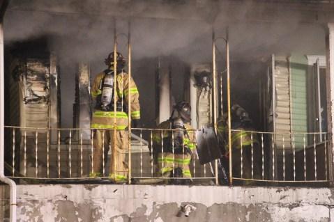 House Fire, 40-42 West Water Street, US209, Coaldale, 8-4-2015 (182)
