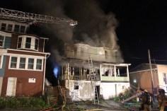 House Fire, 40-42 West Water Street, US209, Coaldale, 8-4-2015 (213)