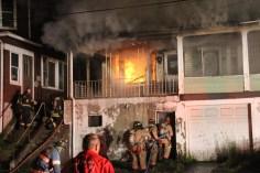 House Fire, 40-42 West Water Street, US209, Coaldale, 8-4-2015 (22)