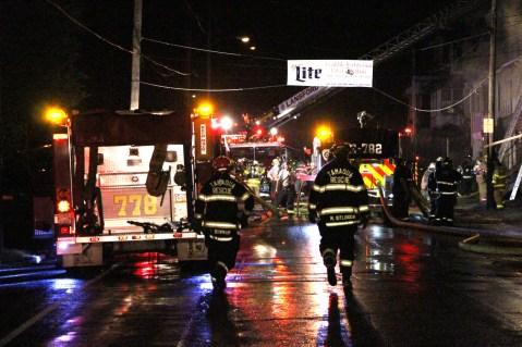 House Fire, 40-42 West Water Street, US209, Coaldale, 8-4-2015 (251)