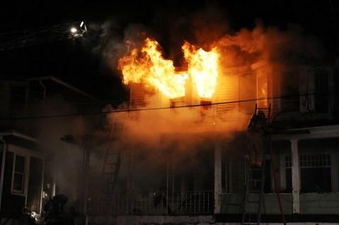 House Fire, 40-42 West Water Street, US209, Coaldale, 8-4-2015 (257)