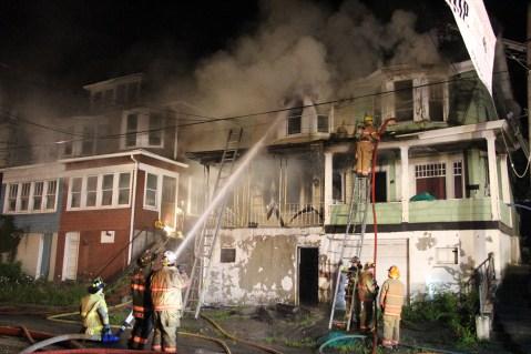 House Fire, 40-42 West Water Street, US209, Coaldale, 8-4-2015 (276)