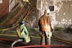 House Fire, 40-42 West Water Street, US209, Coaldale, 8-4-2015 (301)