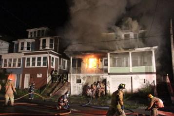House Fire, 40-42 West Water Street, US209, Coaldale, 8-4-2015 (31)