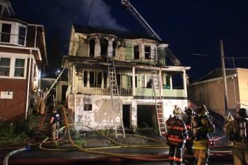 House Fire, 40-42 West Water Street, US209, Coaldale, 8-4-2015 (372)