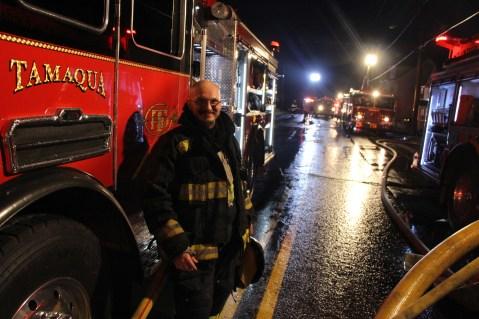House Fire, 40-42 West Water Street, US209, Coaldale, 8-4-2015 (404)