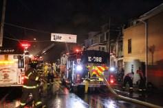 House Fire, 40-42 West Water Street, US209, Coaldale, 8-4-2015 (406)