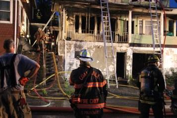 House Fire, 40-42 West Water Street, US209, Coaldale, 8-4-2015 (414)