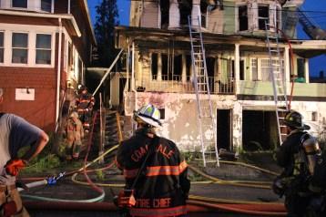 House Fire, 40-42 West Water Street, US209, Coaldale, 8-4-2015 (420)