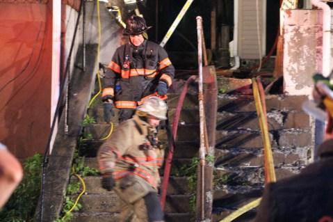 House Fire, 40-42 West Water Street, US209, Coaldale, 8-4-2015 (421)