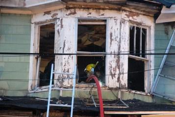 House Fire, 40-42 West Water Street, US209, Coaldale, 8-4-2015 (435)