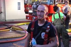 House Fire, 40-42 West Water Street, US209, Coaldale, 8-4-2015 (440)