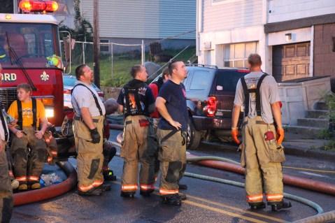 House Fire, 40-42 West Water Street, US209, Coaldale, 8-4-2015 (452)