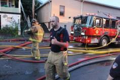 House Fire, 40-42 West Water Street, US209, Coaldale, 8-4-2015 (501)