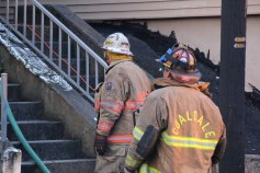 House Fire, 40-42 West Water Street, US209, Coaldale, 8-4-2015 (513)