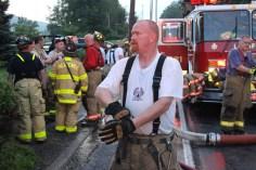 House Fire, 40-42 West Water Street, US209, Coaldale, 8-4-2015 (515)