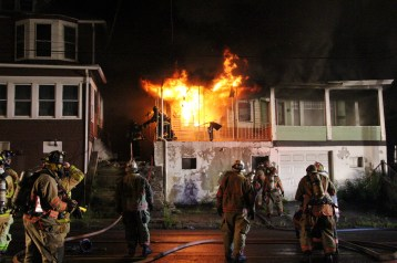 House Fire, 40-42 West Water Street, US209, Coaldale, 8-4-2015 (52)