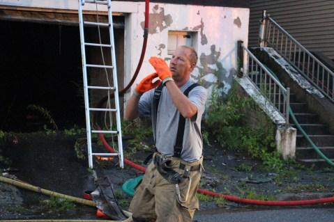 House Fire, 40-42 West Water Street, US209, Coaldale, 8-4-2015 (533)